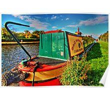 Narrow Boat Poster