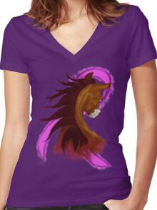We Got This Women's Fitted V-Neck T-Shirt
