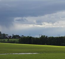 Country side. Spring time. Hedmark, Norway. by UpNorthPhoto