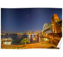 Sydney from the North Shore Poster
