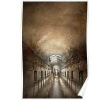 Jail - Eastern State Penitentiary - End of a jouney Poster