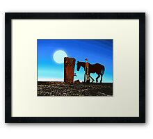 The Last Drop Framed Print