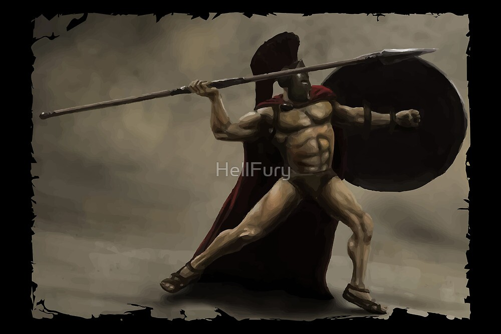 I Am Sparta by HellFury