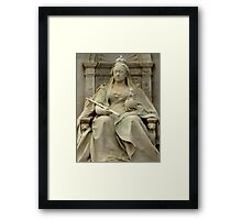 One Day In London : God Save The Queen Framed Print