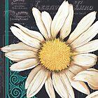 Chalkboard Daisy 2 by Debbie DeWitt