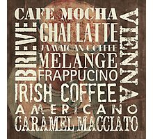 Coffee of the Day 1 Photographic Print