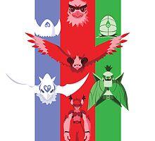 Hawk RGB by gallantdesigns