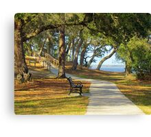 Sit By The River Canvas Print