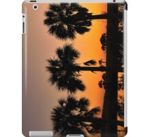 3 Palms In After Glow iPad Case/Skin