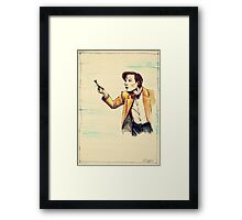 Bowties were never cooler Framed Print