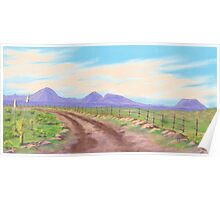 Road Toward Wind Mountain Poster