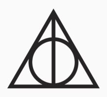 Deathly Hallows - plain sticker by MCellucci