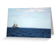 Out on The Horizon Greeting Card