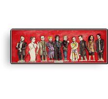Sherlock Characters Canvas Print