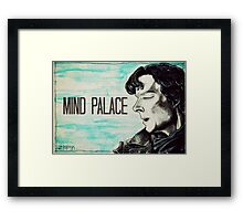 I need to go to my MIND PALACE Framed Print
