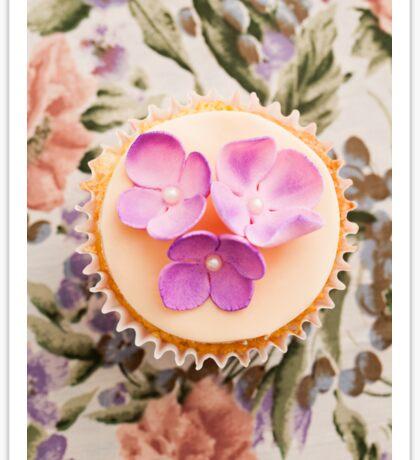 Decorated cupcake Sticker