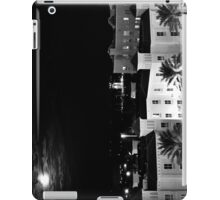 Full Moon Over St Petersburg in B&W iPad Case/Skin