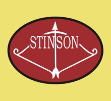 Stinson Aircraft Company Logo Kids Clothes
