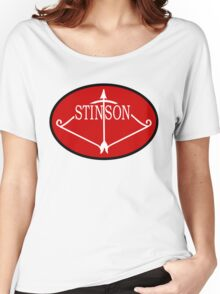 Stinson Aircraft Company Logo Women's Relaxed Fit T-Shirt