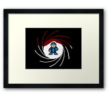 Double Oh Rockman Framed Print
