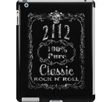 BOTTLE LABEL - 2112 - white distressed iPad Case/Skin