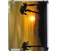Palms on the Beach iPad Case/Skin