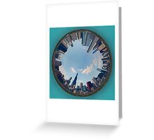 Ringworld Chicago Greeting Card