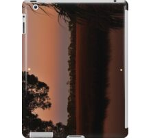 Rising Moon Reflections In After Glow iPad Case/Skin