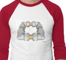 Copper and Chrome Animation - FredPereiraStudios.com_Page_07 Men's Baseball ¾ T-Shirt