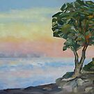 Evening and the Arbutus Tree  by TerrillWelch