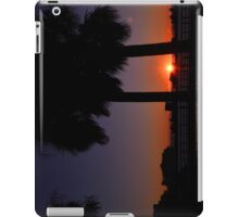 Sunset Between The Palms iPad Case/Skin