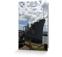 USS Salem Greeting Card