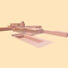 Kaufmann House - Richard Neutra by Peter Cassidy
