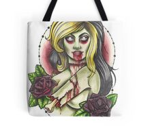 Zombie Girl Tote Bag