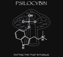 Psilocybin Molecule by Samuel Sheats