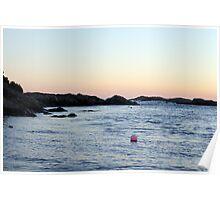 Ocean Drive Sunset Poster