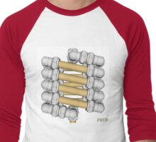 Copper and Chrome Animation - FredPereiraStudios.com_Page_13 Men's Baseball ¾ T-Shirt