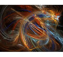 Abstract Firework Dragon Photographic Print