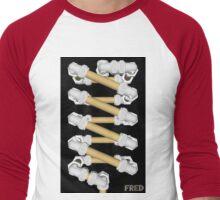 Copper and Chrome Animation - FredPereiraStudios.com_Page_17 Men's Baseball ¾ T-Shirt