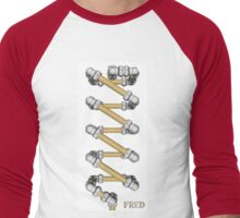 Copper and Chrome Animation - FredPereiraStudios.com_Page_19 Men's Baseball ¾ T-Shirt