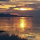 Salt Lake City Utah Sunset by sky2007