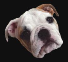 Bulldog Face Kids Tee