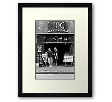 City - Baltimore, MD - Tag Galleries  Framed Print