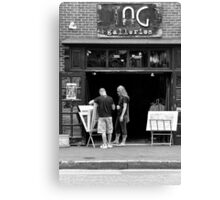 City - Baltimore, MD - Tag Galleries  Canvas Print
