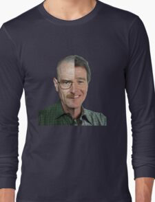 Malcom in the Middle Vs Breaking Bad Long Sleeve T-Shirt