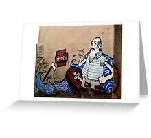 Lisbon Graffiti (tees, cases and prints) Greeting Card