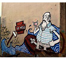 Lisbon Graffiti (tees, cases and prints) Photographic Print