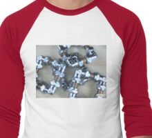 Copper and Chrome Smart Art - FredPereiraStudios.com_Page_03 Men's Baseball ¾ T-Shirt