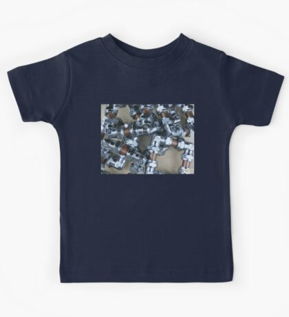 Copper and Chrome Smart Art - FredPereiraStudios.com_Page_04 Kids Tee