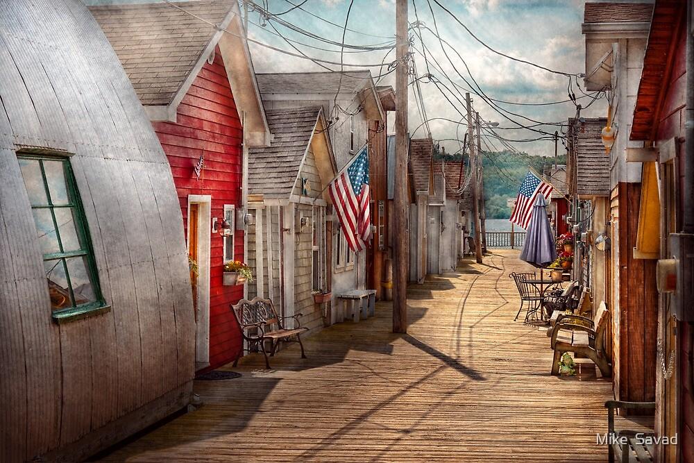 City - Canandaigua, NY - Shanty town  by Mike  Savad